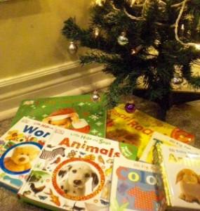 books-under-tree