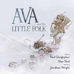 Ava and the little folk book cover